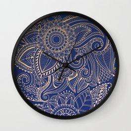 Hena Design I Wall Clock