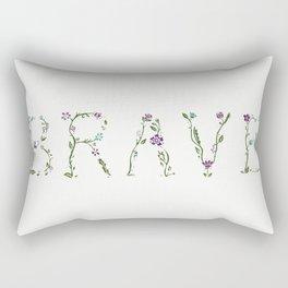 Brave The Storm Rectangular Pillow