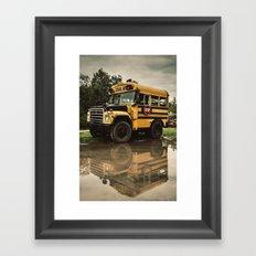 The Short Bus Framed Art Print