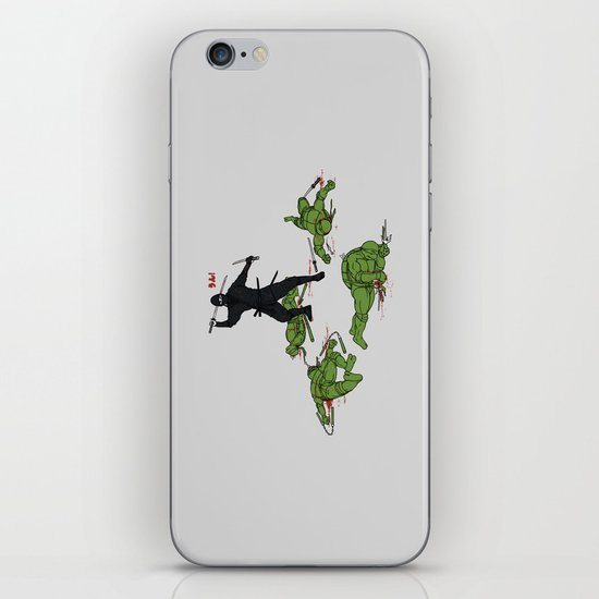 The Real Ninja Part 1 iPhone & iPod Skin