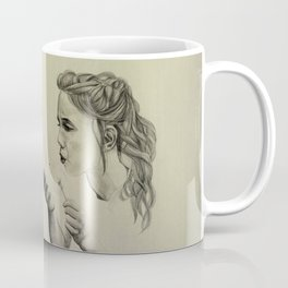 girl with dandelion Coffee Mug