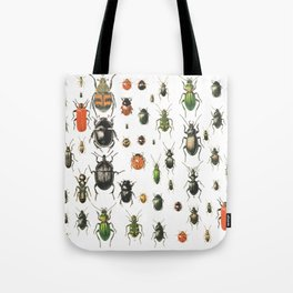 Colors Insects Tote Bag