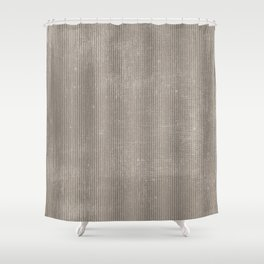 Vintage chic abstract gray geometrical stripes Shower Curtain