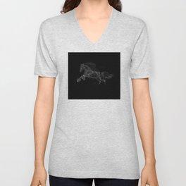 Horse - Gallopping Unisex V-Neck
