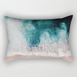 Ocean (Drone Photography) Rectangular Pillow