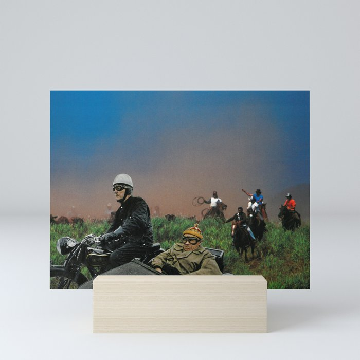 Sidecars & Cowboys Mini Art Print