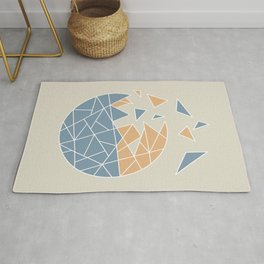 DISASTER (abstract geometric) Rug
