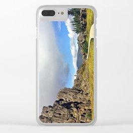 Þingvellir/Thingvellir National Park, Iceland (4) Clear iPhone Case