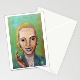 Evita y el pueblo Stationery Cards