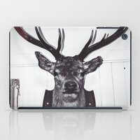 antlers iPad Cases featuring Antlers  by Mark Spence