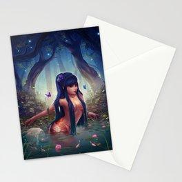 Koi Mermaid Stationery Cards