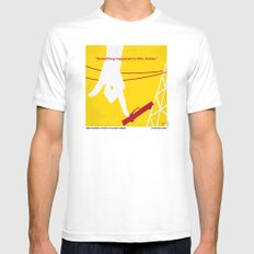 No276 My Attack of the 50 Foot Woman minimal movie poster LARGE White Mens Fitted Tee