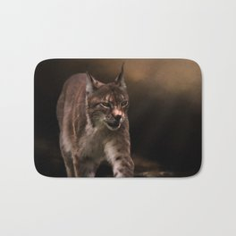 Into The Light - Lynx Art Bath Mat