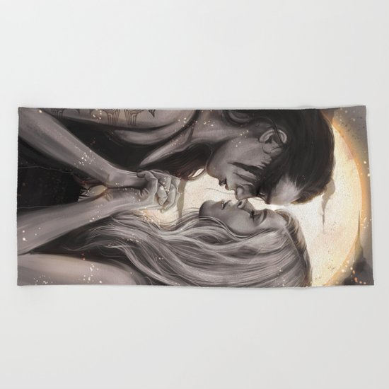 Moonlight Beach Towel