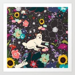 Momo Wonderland Art Print