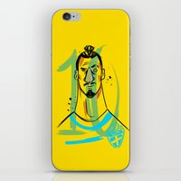 zlatan iPhone & iPod Skins featuring ZLATAN 10 by AG Abreu