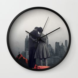 Dying In Your Arms Wall Clock