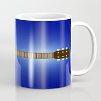 woody Mugs featuring Woody by Derek Donovan