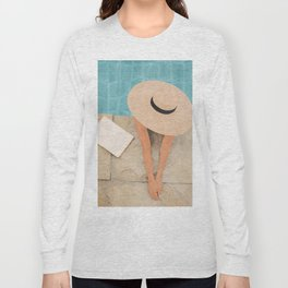 On the edge of the Pool II Long Sleeve T-shirt