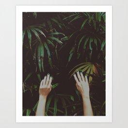 Jungle air Art Print
