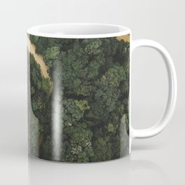 Aerial View of Amazon Forest River Coffee Mug