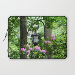 Lamppost Pink Laptop Sleeve