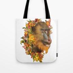 Baboon Rainbows Tote Bag