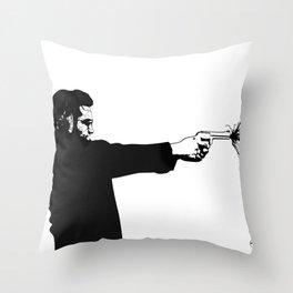 Kittapa Series - White Throw Pillow