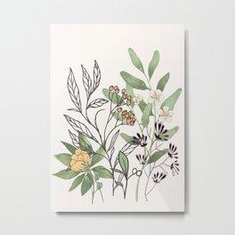 Spring Garden II Metal Print