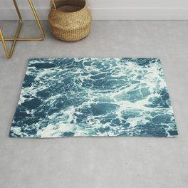 Sea Foam, Ocean Water, Water Pattern, Sea Texture, Seawater Rug