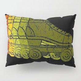 1970s Roller Skate Pillow Sham