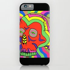 Hallucinogenic Skull Slim Case iPhone 6s