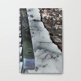 Graffiti Slide Metal Print