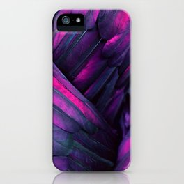 Purple Wing iPhone Case