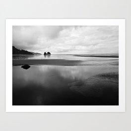 Stillness in Oregon Art Print