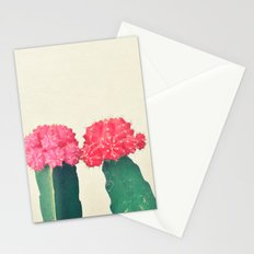 Plaid Cacti Stationery Cards