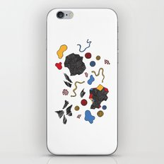 doodle conversation iPhone & iPod Skin