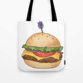 B is for Burger Tote Bag