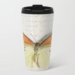 Hebomoia Glaucippe Lepidoptera Metal Travel Mug