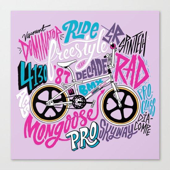 Mongoose Decade Canvas Print