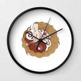 Copper Naga Wall Clock