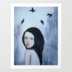 Fall or Fly Art Print