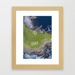 70 Eire Framed Art Print