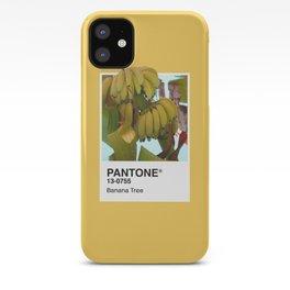 PANTONE SERIES – BANANA TREE iPhone Case