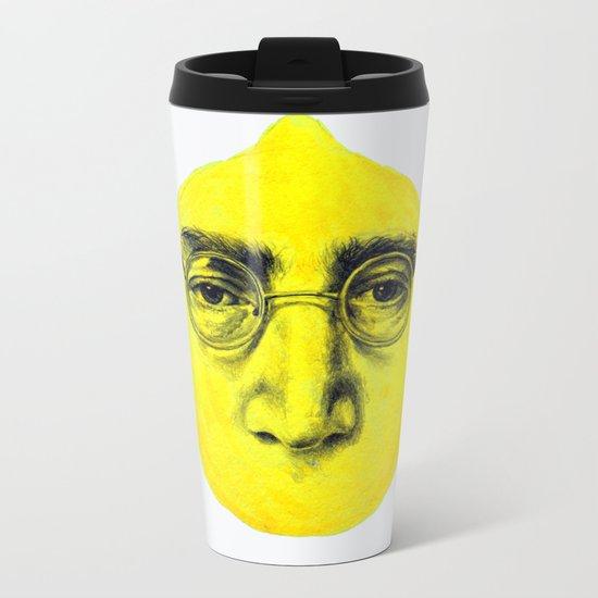 John Lemon Metal Travel Mug