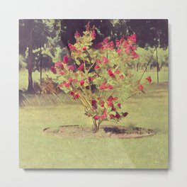 Flower tree impression Metal Print