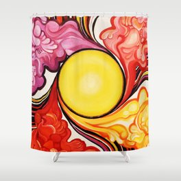 Helios (Cycle) Shower Curtain