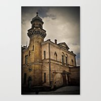 dark tower Canvas Prints featuring Dark Tower by Contrasens