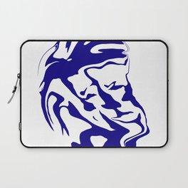 face6 blue Laptop Sleeve