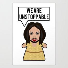 Conchita - Unstoppable Art Print